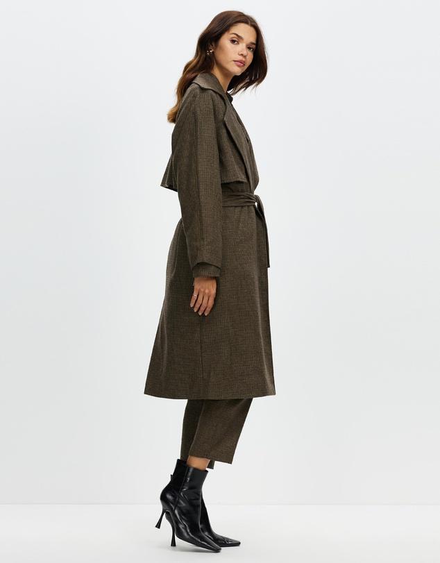 Women New Order Trench Coat