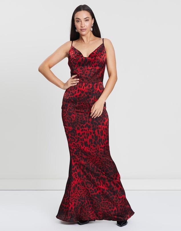 ac9fea315d26f Leopard Print Maxi Dress