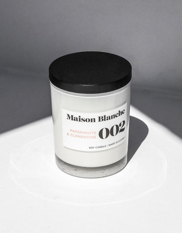 Life 002 Paperwhite & Clementine - Medium Candle