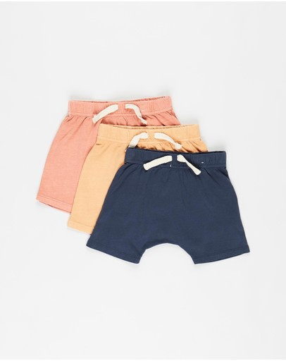 Cotton On Baby - 3-Pack Mikko Shorts - Babies