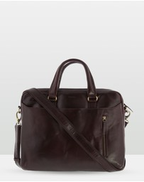 Cobb & Co - Seymour Large Leather Portfolio Bag