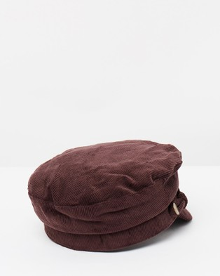 Ace Of Something Arya Cap - Hats (Mahogony)
