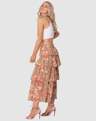 Three of Something Sorcery Print Lucky Skirt - Skirts (Sourcery Print)