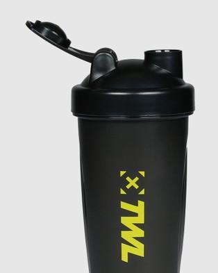 The WOD Life Shaker Bottle - Water Bottles (Black)