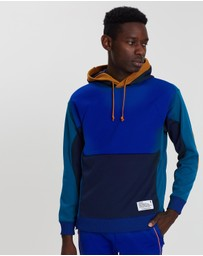 White Mountaineering - Contrasted Side Zip Hoodie