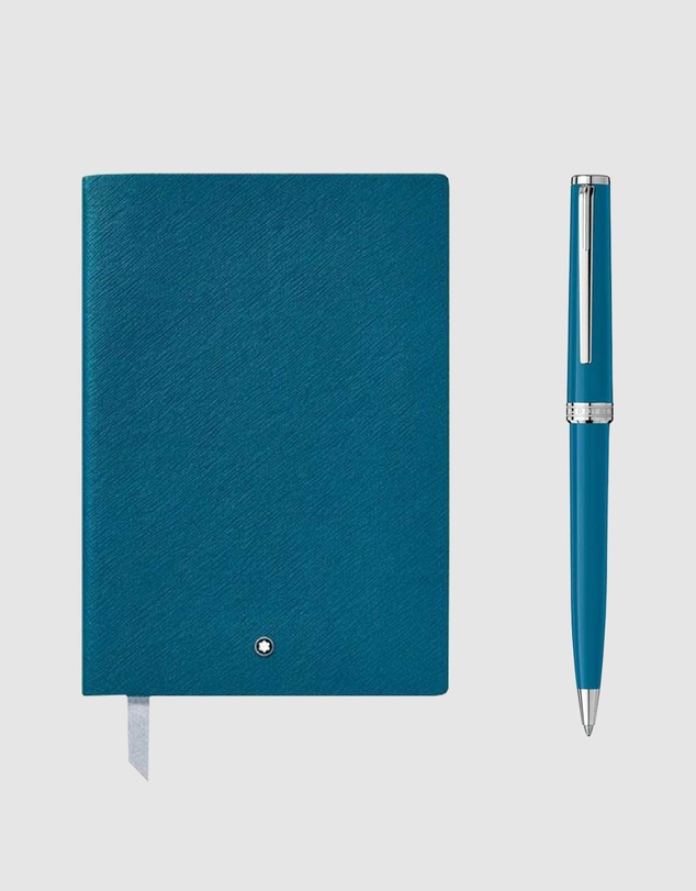 Montblanc - ICONIC EXCLUSIVE - PIX Ballpoint Pen & Cuaderno #146 Notebook