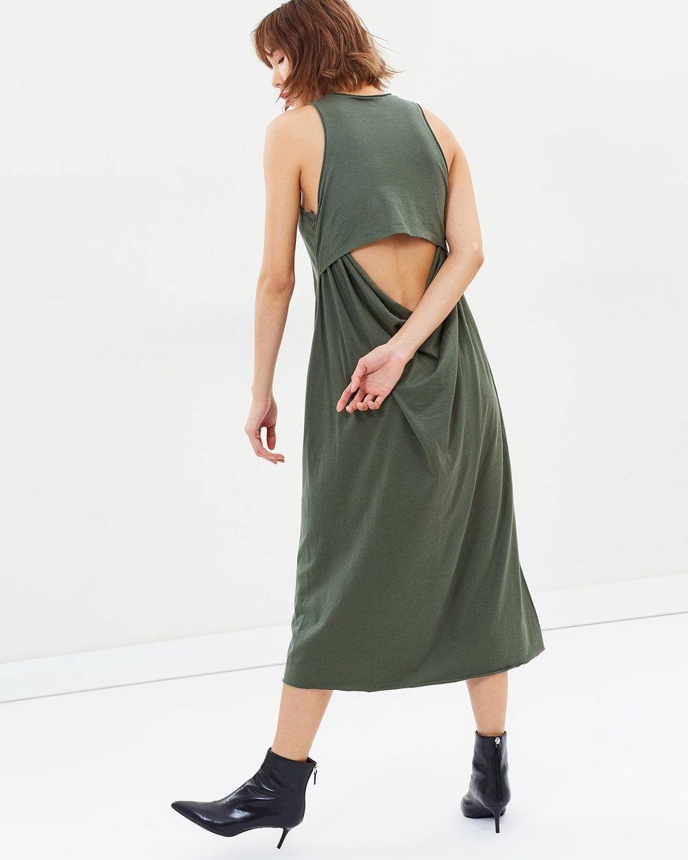 KITX Hemp Lover Dress Dresses Khaki Hemp Lover Dress