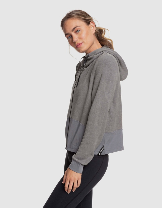 Women Womens Only The Brave Hooded Zip Up Jumper