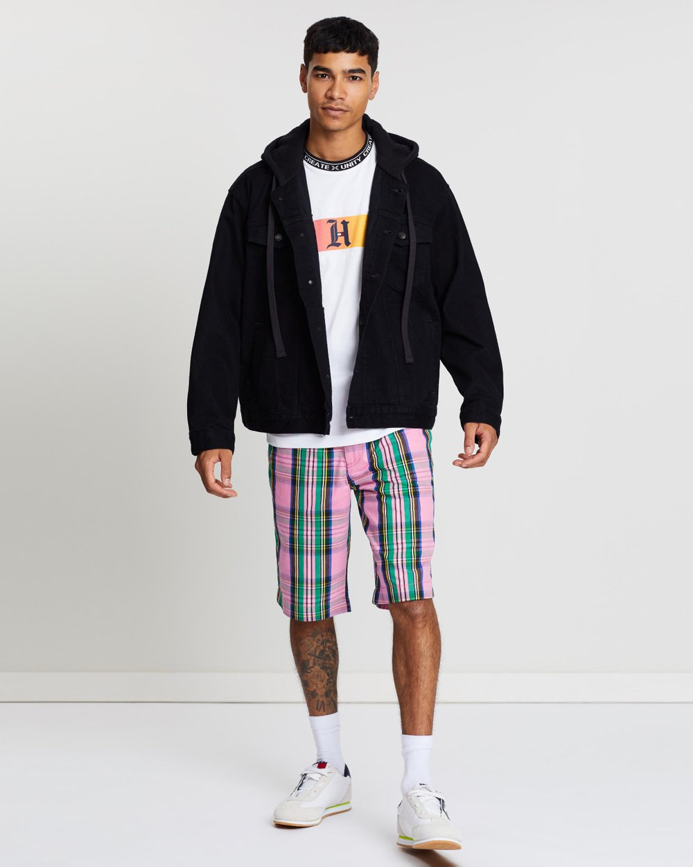 011c186c3aa Lewis Hamilton Oversized Denim Jacket by Tommy Hilfiger Online | THE ICONIC  | Australia