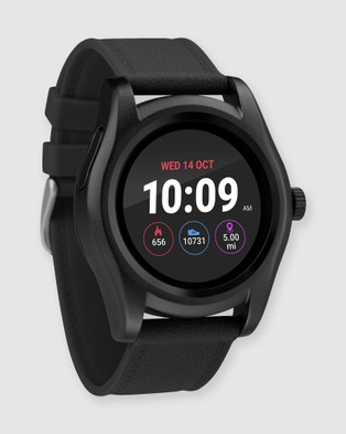 iConnect By Timex iConnect Round - Fitness Trackers (Black)