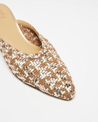 Naturalizer Bismark - Mid-low heels (Gold Multi)
