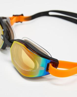 Zoggs Ultima Air Titanium   Unisex - Goggles (Black, Grey & Titanium)