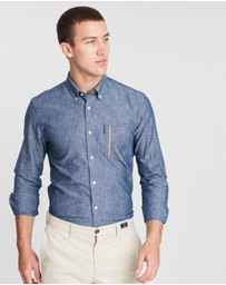 Ben Sherman - Chambray Pocket Stripe Shirt