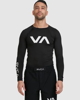 RVCA Sport Rashguard - Swimwear (RVCA BLACK)