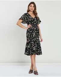 Atmos&Here - Franky Ruffle Midi Dress