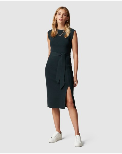 Forever New - Ariana Front Split Knit Dress