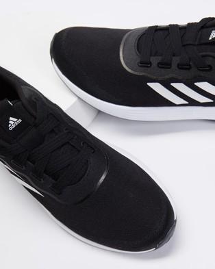 adidas Performance QT Racer Sport Shoes   Women's - Training (Core Black, White & Grey Six)