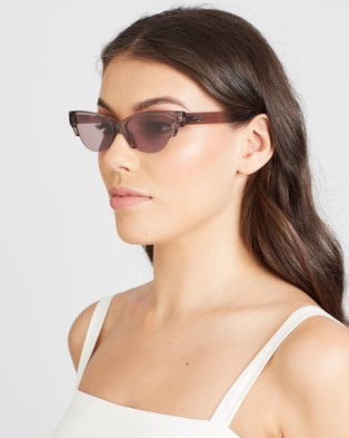 Local Supply Skyline - Sunglasses (Polished Plum & Plum)