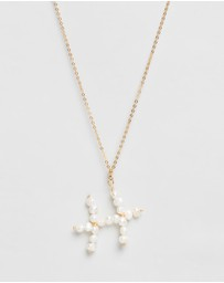 Reliquia Jewellery - Pisces Pearl Zodiac Sign Pisces Necklace