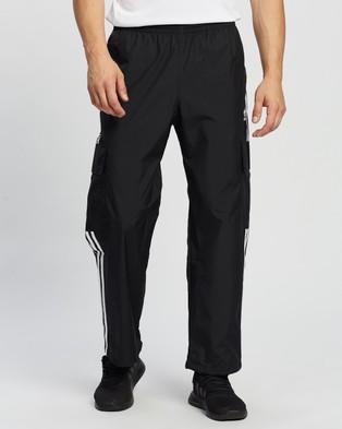 adidas Originals Adicolor Classics 3 Stripes Cargo Pants - Cargo Pants (Black)