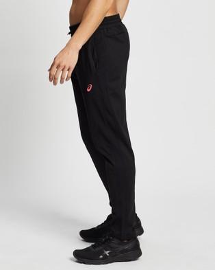ASICS Future Tokyo Thermopolis Fleece Pant   Men's - Pants (Performance Black/Flash Coral)