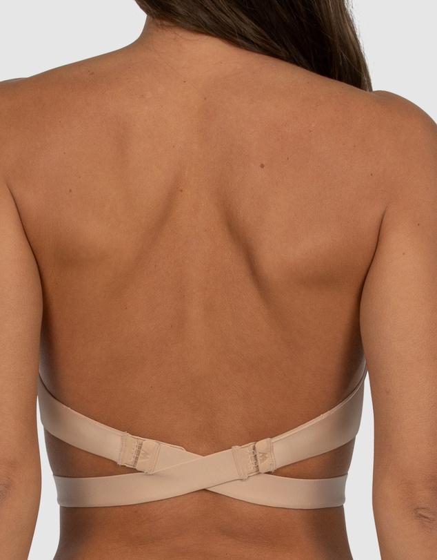 Women Ultimate Multiway Strapless Padded Push Up Bra