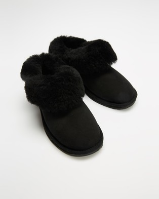 Emu - Platinum Mintaro Slippers & Accessories (Black)