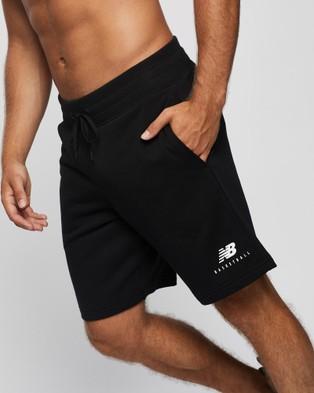 New Balance NB Basketball Blacktop Shorts - Shorts (Black)