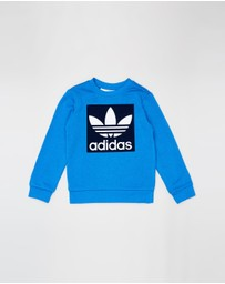 adidas Originals - Trefoil Crew Sweatshirt - Kids-Teens