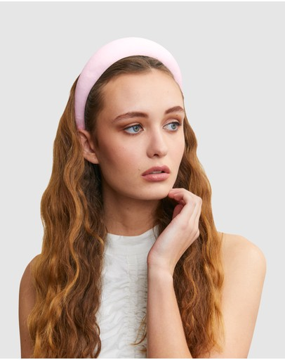 Ford Millinery Monica Headband Pink