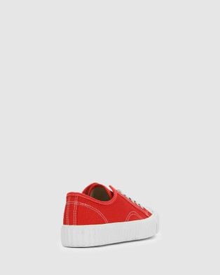 Los Cabos Shena - Lifestyle Sneakers (Red)