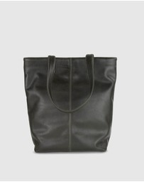 Toffee - Leather Tote