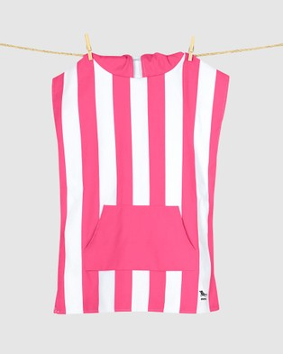 Dock & Bay Poncho Mini 100% Recycled Cabana Collection - Pool Towels (Pink)