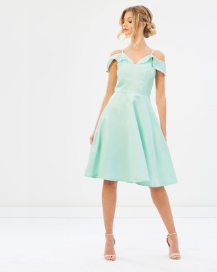Chi Chi London – Saydie Dress – Bridesmaid Dresses Mint