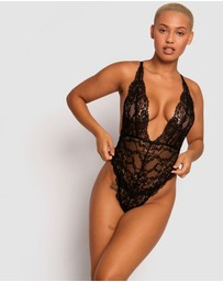 Bras N Things - Warrior Glam Plunge Bodysuit