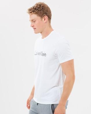 Calvin Klein Comfort Cotton Crew Neck Tee - Accessories (White)