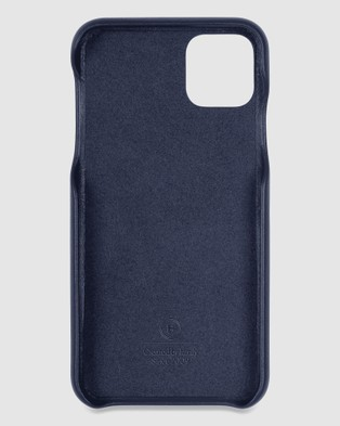 The Horse iPhone 11 Pro Max   The Scalloped iPhone Cover - Tech Accessories (Navy iPhone 11 Pro Max)