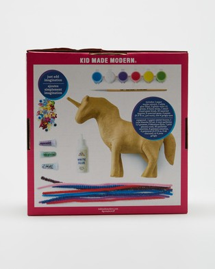 Kid Made Modern Paint Your Own Paper Mache Kit - All toys (Unicorn)