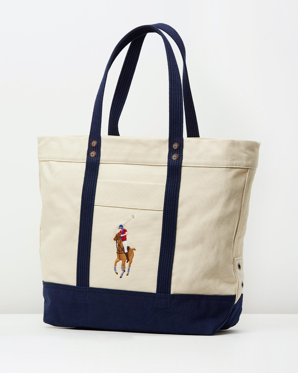 14c24f91d063 Canvas Pony Tote by Polo Ralph Lauren Online