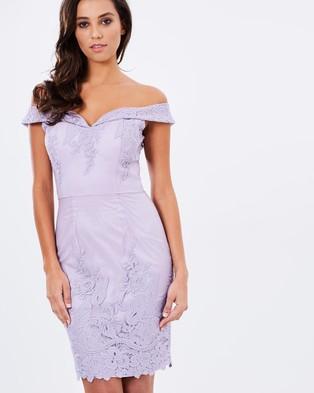 Chi Chi London – The Amerie Dress – Bodycon Dresses (Purple)
