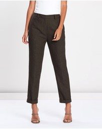 FRIEND of AUDREY - Ellen Wool 7/8 Trousers