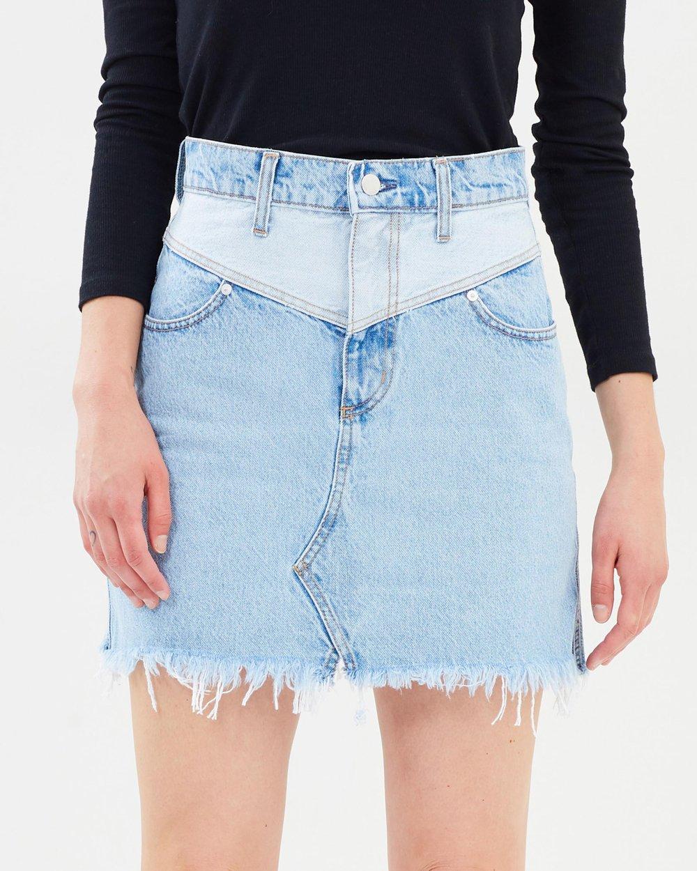 bd6aadab7d Piper Skirt by Nobody Denim Online | THE ICONIC | Australia