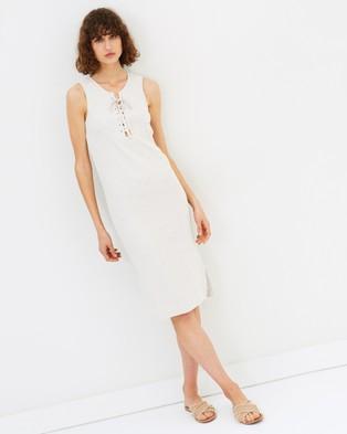 Elka Collective – Miranda Dress Oat Marle