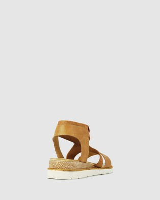 Los Cabos Clan - Wedges (Brown)