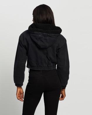Silent Theory - Agenda Denim Jacket - Denim jacket (WASHED BLACK) Agenda Denim Jacket