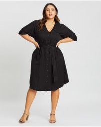 Atmos&Here Curvy - Valerie Midi Dress