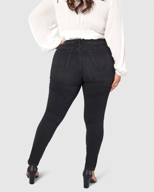 The Poetic Gypsy Free Love Jeans - Jeans (BLACK)