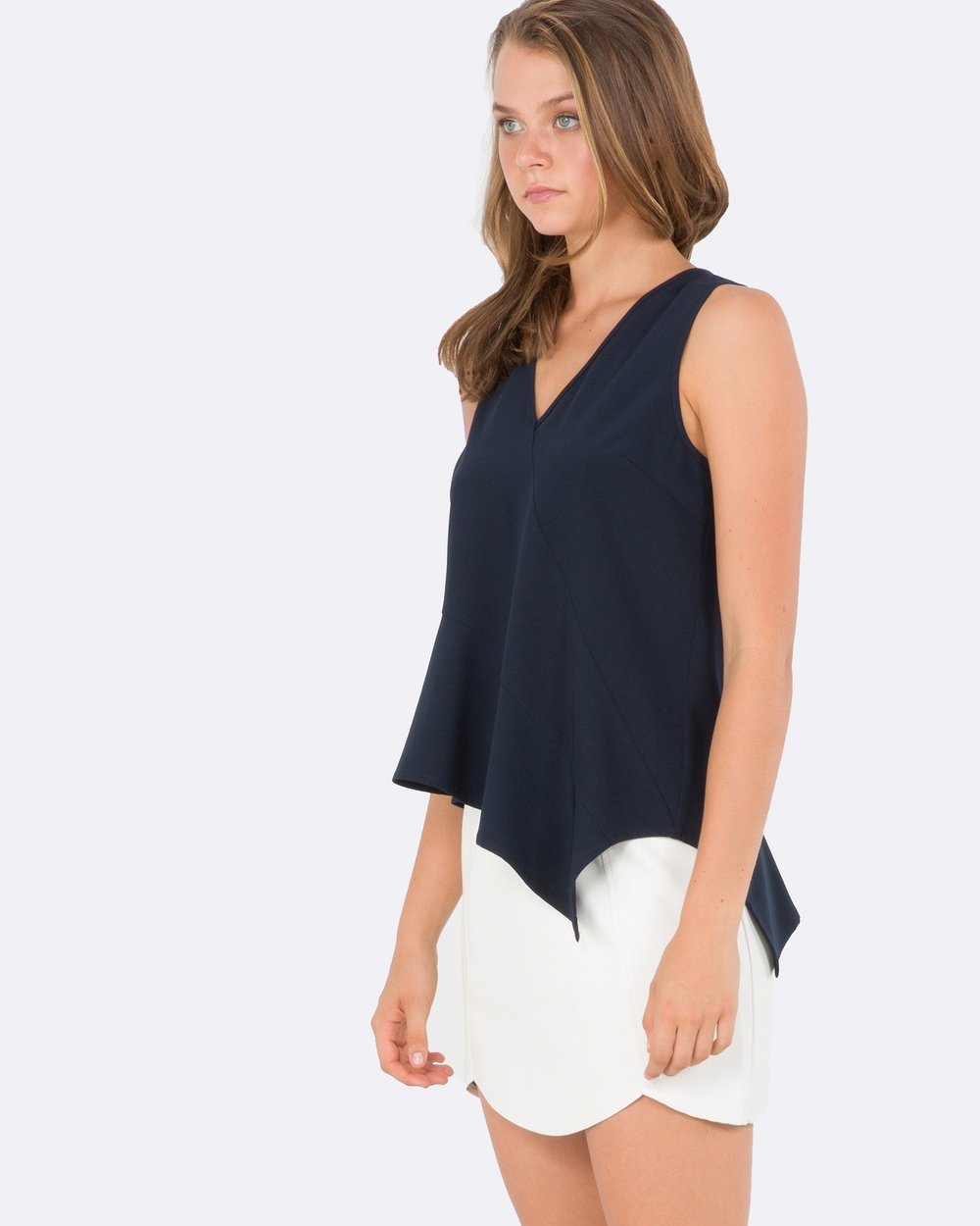 Amelius Magnet Top Tops Navy Magnet Top
