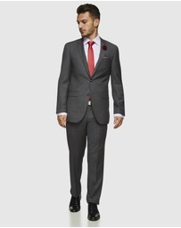 Kelly Country - Savile Row Abram Pure Wool Grey Suit Set