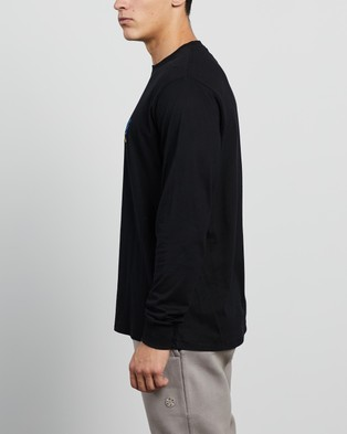 Barney Cools - Neon Club Long Sleeve Tee T-Shirts & Singlets (Black)